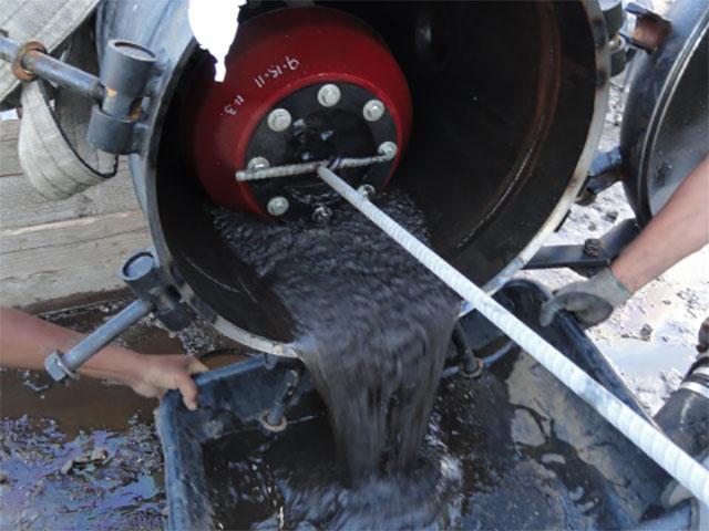 Pipeline pigging petroleum services inc