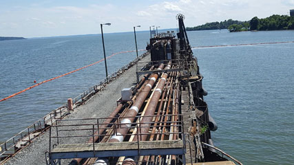 Dock 1 Line Cleaning – Possum Point Power Station